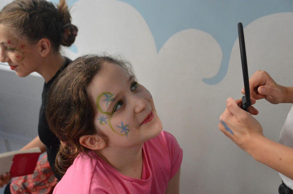 anniversaire enfants maquillage paris