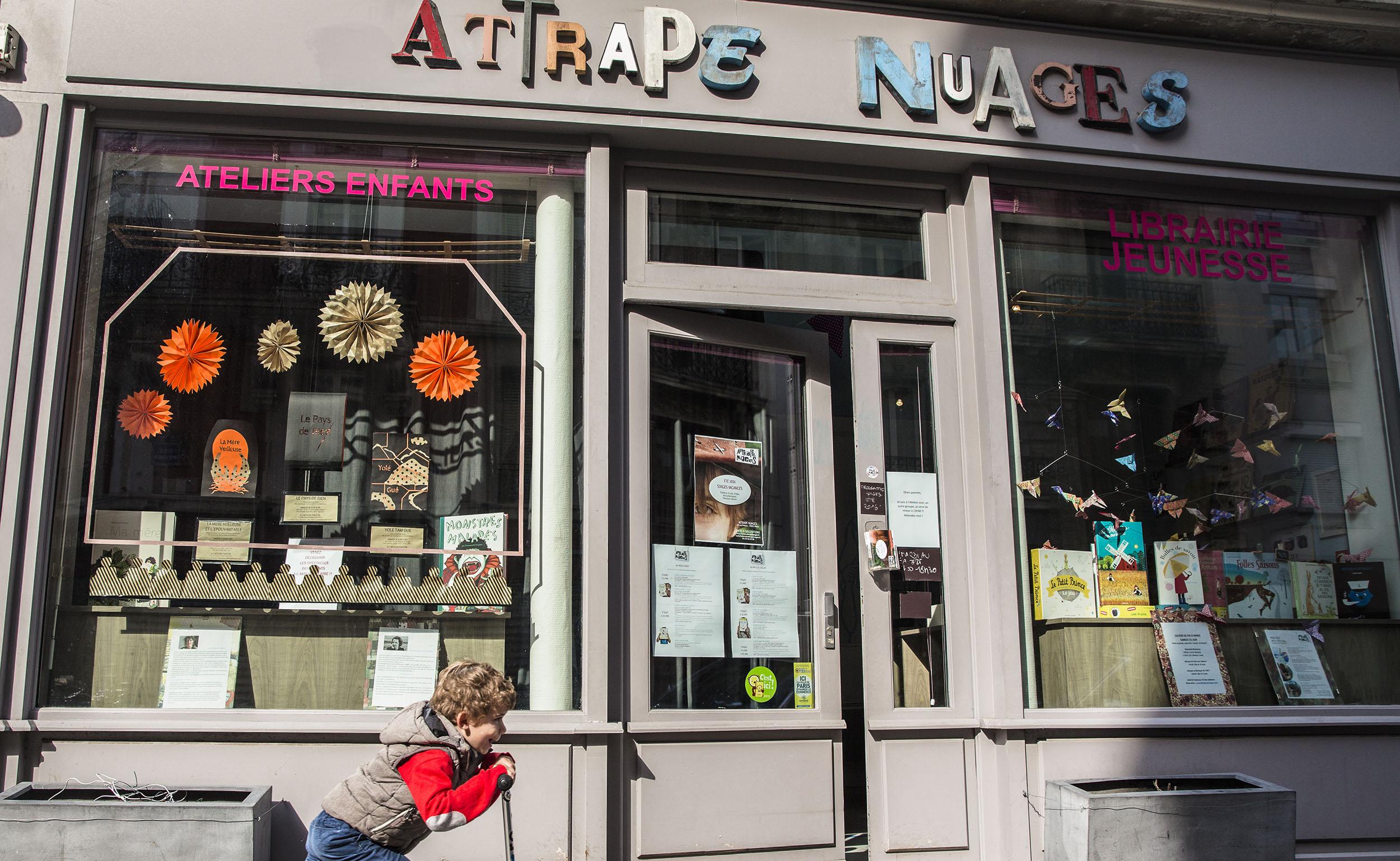 librairie attrape nuages paris