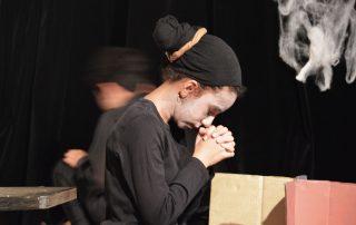 spectacle théâtre scénographie adolescent