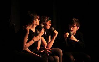 spectacle théâtre scénographie adolescent molière