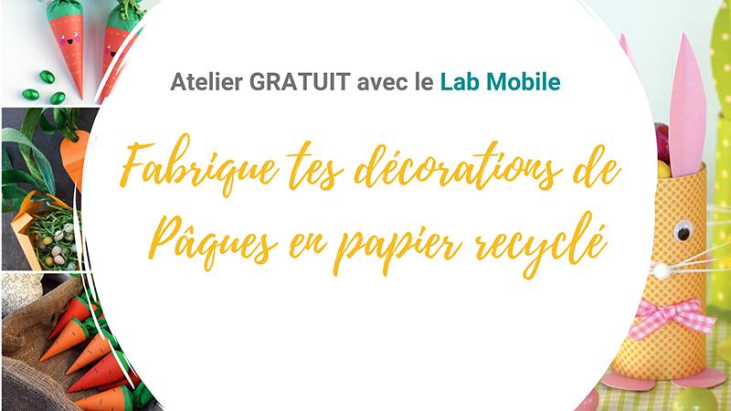atelier papier recyclé