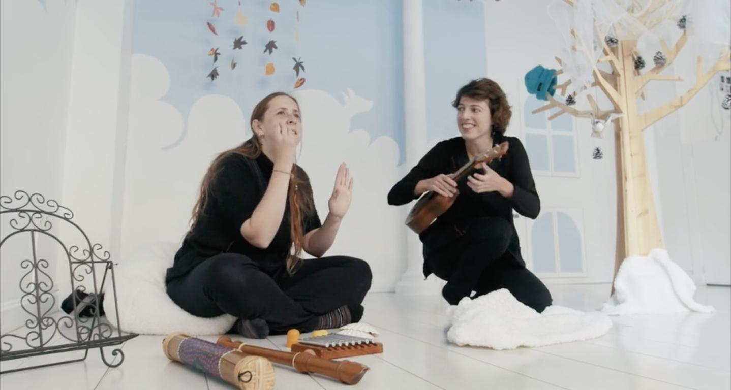 lecture jouée signée chantée spectacle bébé