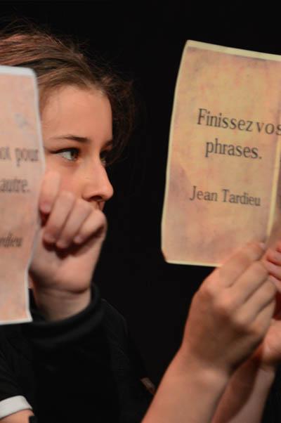 atelier théâtre adolescent paris 11e